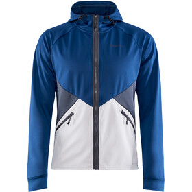 Craft Glide Hood Jacket Men beat/ash
